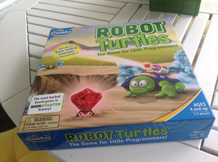 Robot Turtles box